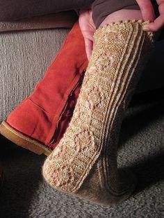 Ravelry: Lantern Socks pattern by Star Athena