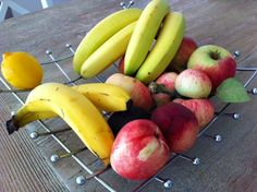 A forager's find: fruit bowl from St Michael's Hospice shop in Bexhill (fruit blogger's own)