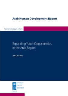 """Chaaban . 2013. """"Expanding Youth Opportunities in the Arab Region."""" Arab Human Development Report Research Paper Series. New York: UNDP Regional Bureau for Arab States."""