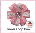 Tons of free tutorials for making hair bows...or gift bows, since I like to use a few of them as gift bows too! ;)