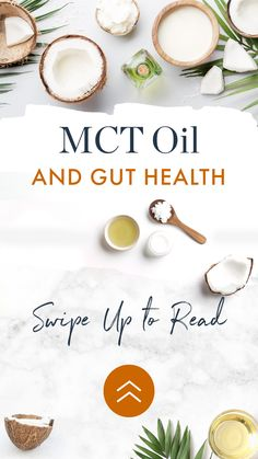 Gut Health, Health And Wellness, Mct Oil, Health Benefits, Keto, Nutrition, Food, Health Fitness, Meals