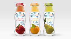 Jugos Light Lumafruit on Behance