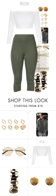 """Untitled #1557"" by power-beauty ❤ liked on Polyvore featuring ASOS, The Row, Chanel and Giuseppe Zanotti"
