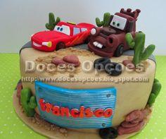 Doces Opções: Bolo Cars para o aniversário do Francisco