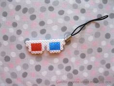 3d Glasses hama beads 10 would approve