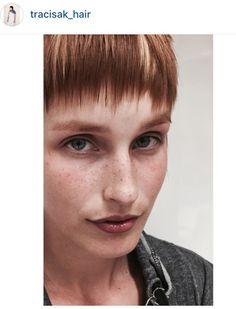 Fringe, Vidal Sassoon hair