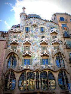 Fairytale like piece of Gaudí – Casa Batlló, Spain