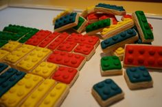 Lego sugar cookies - I can do this!