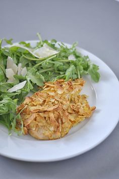Coconut Crusted Tilapia - an easy and delicious dinner from Shiny Happy Bright