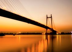 The Second Hooghly Bridge...one of the icons of modern engineering...