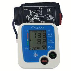Cheap Vitagoods Blood Pressure Monitor White/Blue https://bestheartratemonitorusa.info/cheap-vitagoods-blood-pressure-monitor-whiteblue/