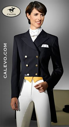 Pikeur - Damen Dressurfrack -- CALEVO.com Shop  Read more about the latest trends on the new dressage style blog www.shadbelly.com.