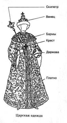 Фотографии древнерусских костюмов