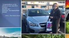 Dear Janis Leird   A heartfelt thank you for the purchase of your new Subaru from all of us at Premier Subaru.   We're proud to have you as part of the Subaru Family.