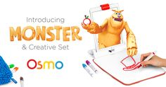 Osmo's groundbreaking system fosters social intelligence and creative thinking by opening up the iPad to the endless…
