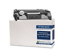 RT CF280A 80A Modified MICR Toner Cartridge for Check Printing on LaserJet Pro 400 M425dn M401n series printers