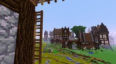 This is how my medieval village is doin'.