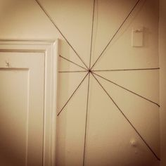 Arachnophobia Attack!          This is an inexpensive way to give any room a huge eerie impact!  We literally spent less than $3.00.       ...