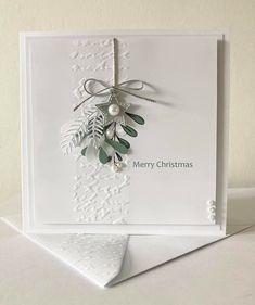 Christmas Card Crafts, Homemade Christmas Cards, Handmade Christmas Decorations, Christmas Cards To Make, Xmas Cards, Christmas Greetings, Homemade Cards, Holiday Cards, Karten Diy