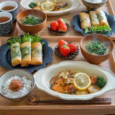 Bento Recipes, Daily Meals, Aesthetic Food, Food Menu, Clean Recipes, Food Presentation, Food Design, Japanese Food, Food Inspiration