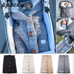 Baby Carts Newborn Envelopes Winter Thick Fur Baby Sleeping Bags Sleeping Bags Pajamas And Childrens Baby Trolley