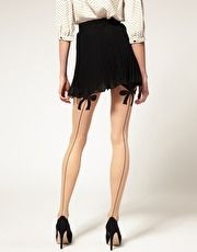 wolford thigh bow tights