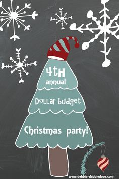 4th annual Dollar tree Christmas party. All things Dollar tree friendly crafts and home decor ideas.