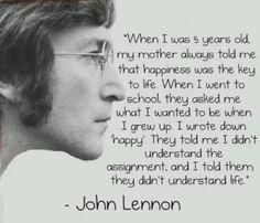 John lennon happiness