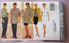 1996  Uncut  Butterick   Pattern 4400  by lovelylovepatterns, $5.00