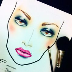 Novel romance collection inspired face chart on request using: #maccosmetics #macmakeup #novelromance #facechart #facecharts #macboy #maccollection #pinklip #fashion #trend #macartist #pabsartist #makeup #maceyeshadows #facechart #faces #art #passion #lov