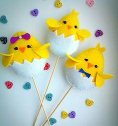 New Basket Easter Ideas Decoration Crafts Ideas Easter Art, Easter Crafts, Crafts For Kids, Easter Projects, Craft Projects, Easter Ideas, Diy Osterschmuck, Felt Animal Patterns, Diy Ostern