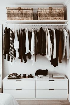 how to build an open concept closet, diy open clos. - how to build an open concept closet, diy open clos… – Small Space Bedroom, Master Bedroom Closet, Master Bedroom Design, Home Bedroom, Modern Bedroom, Contemporary Bedroom, Bedroom Storage For Small Rooms, Wardrobe Small Bedroom, Storage Room