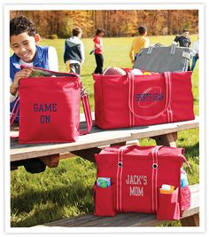 Whether it's the football field or soccer field or the parking lot of a tailgate - gear up for Fall with our Spirit Collection!  www.mythirtyone.com/lauriemoyer