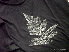 leaf print / Stampare con le foglie / by filo - so - pia