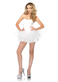 1 PC Tutu Dress with boning support and removable straps. MADE IN USA! PLEASE NOTE: Due to the popularity of this item it may take an additional 4 days for processing of this item. 2 Day shipping will not expedite this only the shipping time. For more information please see our Store Policy.
