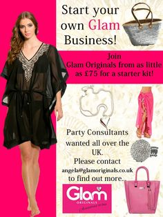 Start your own Glam Business! Join us as a party Planner.