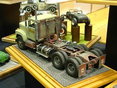Photo: DSCF0154 | Jabbeke 2007 album | modeltrucks25 Plastic Model Kits, Plastic Models, Model Truck Kits, Truck Scales, Heavy Truck, Remote Control Cars, Kit Cars, Best Model, Model Building