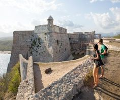 places to see history in CUBA Cuba Travel, Long Shadow, Nostalgia, Spanish Colonial, Luxury Travel, Places To See, Revolutions, Monument Valley, Mount Rushmore