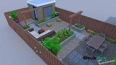 Afbeeldingsresultaat voor tuinontwerpen kleine tuin