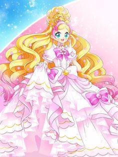 Cure Flora Premium Mode Elegant Sakura by neutrinoflavor on DeviantArt