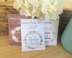 Baby Shower Favors Seeds ~ Baby shower seed packet favors sunflower baby by favoruniverse