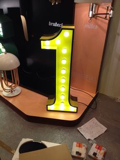 .#delightfull, vintage american style, letter lamps, typography lamps, your message on lamps, www.delightfull.eu