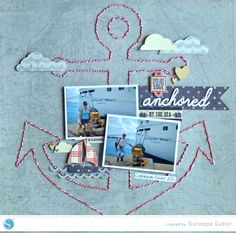 Hand Stitching Tutorial | Guiseppa Gubler for Silhouette | Scrapbooking