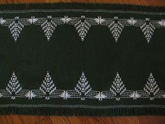 Christmas Swedish Weaving Table Runner by rdrunnercreations