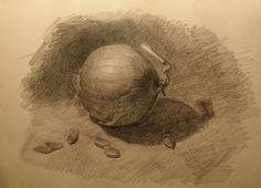 Лук с семенами тыквы