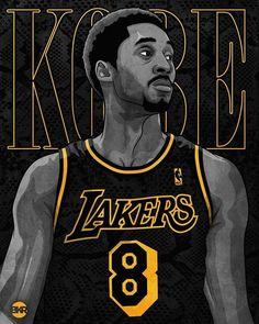 Bryant Basketball, Kobe Bryant 8, Kobe Bryant Family, Basketball Art, Kobe Lebron, Lebron James Lakers, Lakers Kobe, Cool Basketball Pictures, Nba Pictures