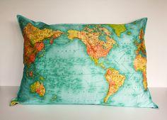 Карты мира оригинального дизайна. Смотрите и вдохновляйтесь