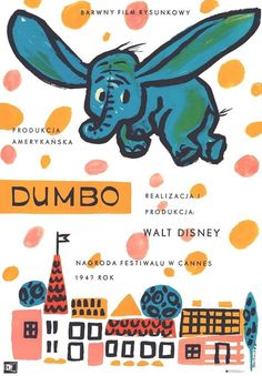 Dumbo posters for sale online. Buy Dumbo movie posters from Movie Poster Shop. We're your movie poster source for new releases and vintage movie posters. Polish Movie Posters, Polish Films, Marvel Movie Posters, Disney Posters, Posters Vintage, Retro Poster, Vintage Movies, Massimo Vignelli, Dumbo Movie