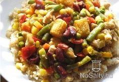 Citromos-húsos ragu    wokba Kung Pao Chicken, Wok, Ethnic Recipes