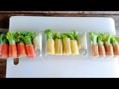 สลัดโรล+วิธีการม้วนให้แน่น+ขายดีมาก | #ทำอะไรขายดีEP.1 สลัดโรล - YouTube Vietnamese Spring Rolls, Thai Street Food, Thai Cooking, Dumpling, Healthy Recipes, Healthy Food, Yummy Food, Rolls Recipe, Ethnic Recipes